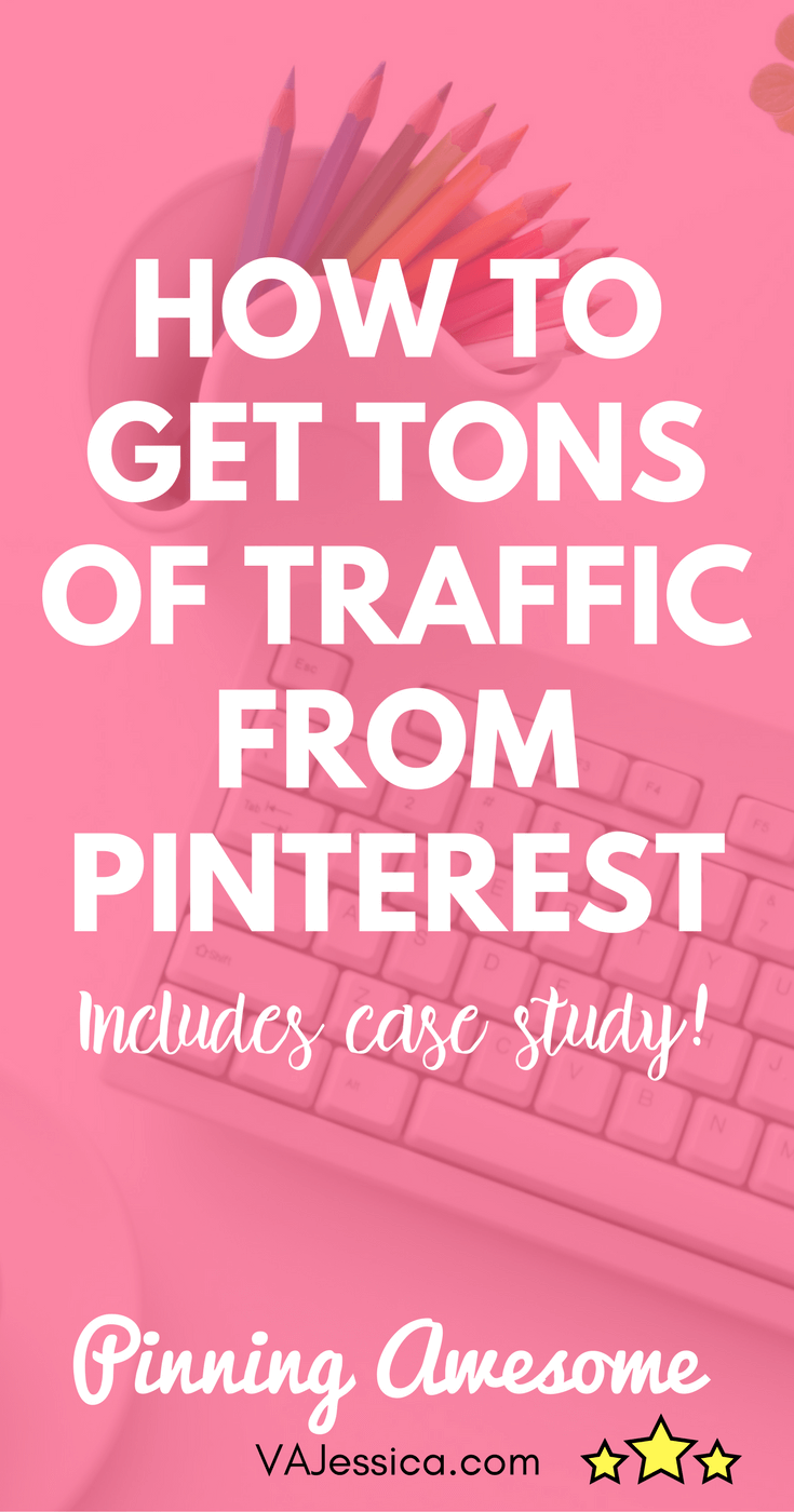 Pinterest can be a traffic goldmine when done right! In this post, learn how to get traffic from Pinterest, including my favorite Pinterest course. Great for new bloggers, mompreneuers, affiliate marketers, and more. I also talk about Tailwind tribes and Pinterest group boards.