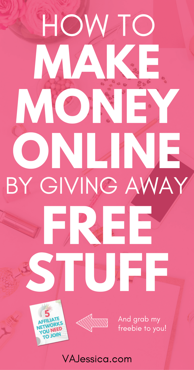 If you want to make money online, affiliate marketing is a great way to do it. Did you know some affiliate programs actually pay you to give away free stuff? I've also included some of my best affiliate marketing tips in this post so you can get started on your affiliate marketing side hustle! Great for bloggers, online entrepreneurs, mompreneurs, and more.